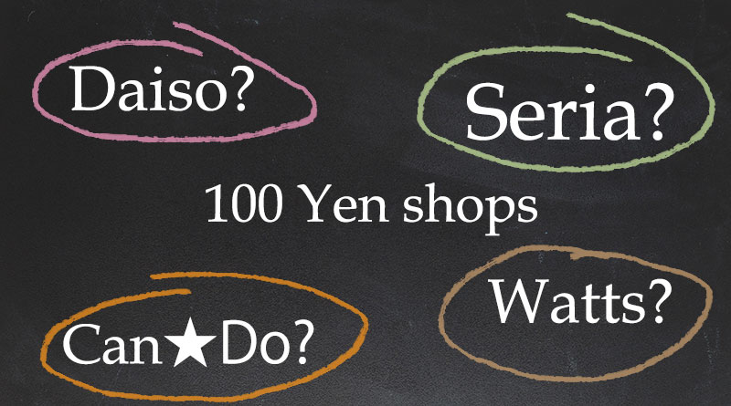 100 Yen Shops - Featured Image