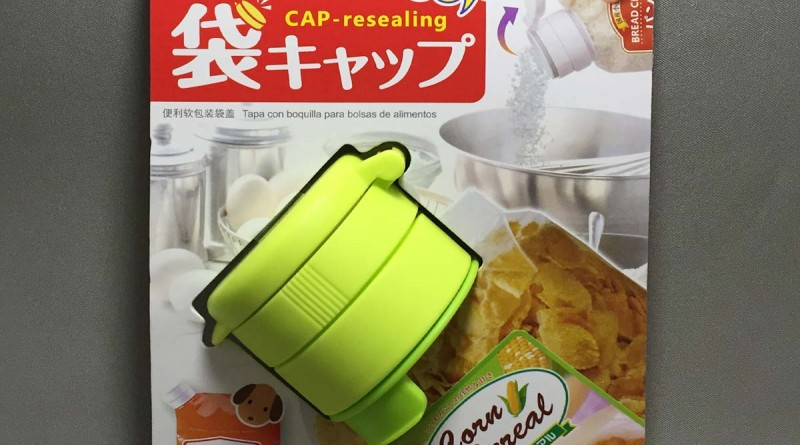 Bag cap - Cap Resealing - Front packaging