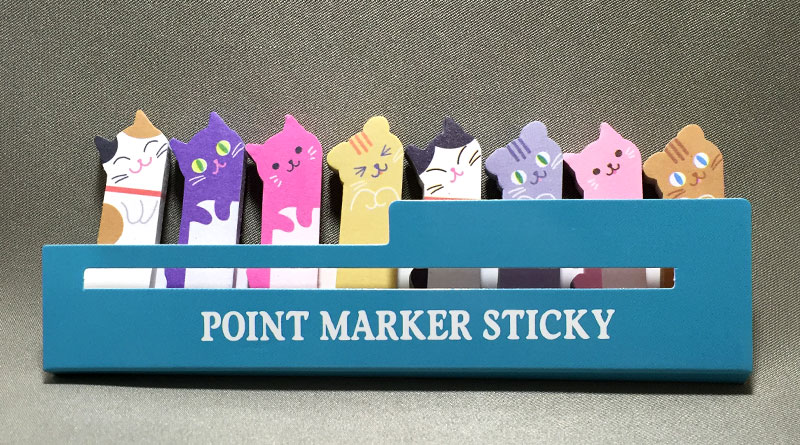 Daiso Japan Cat Sticky Memo - Featured Image