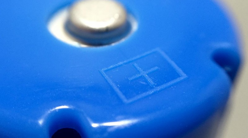 Battery Changer - Blue battery macro