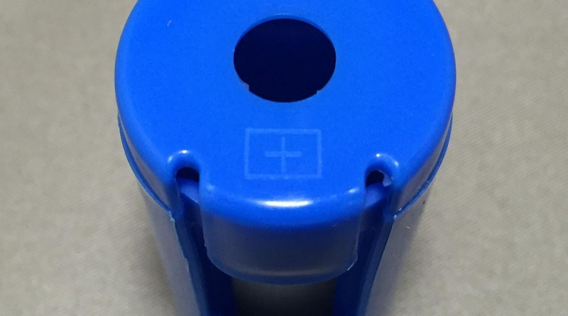 Battery Changer - Blue plus end