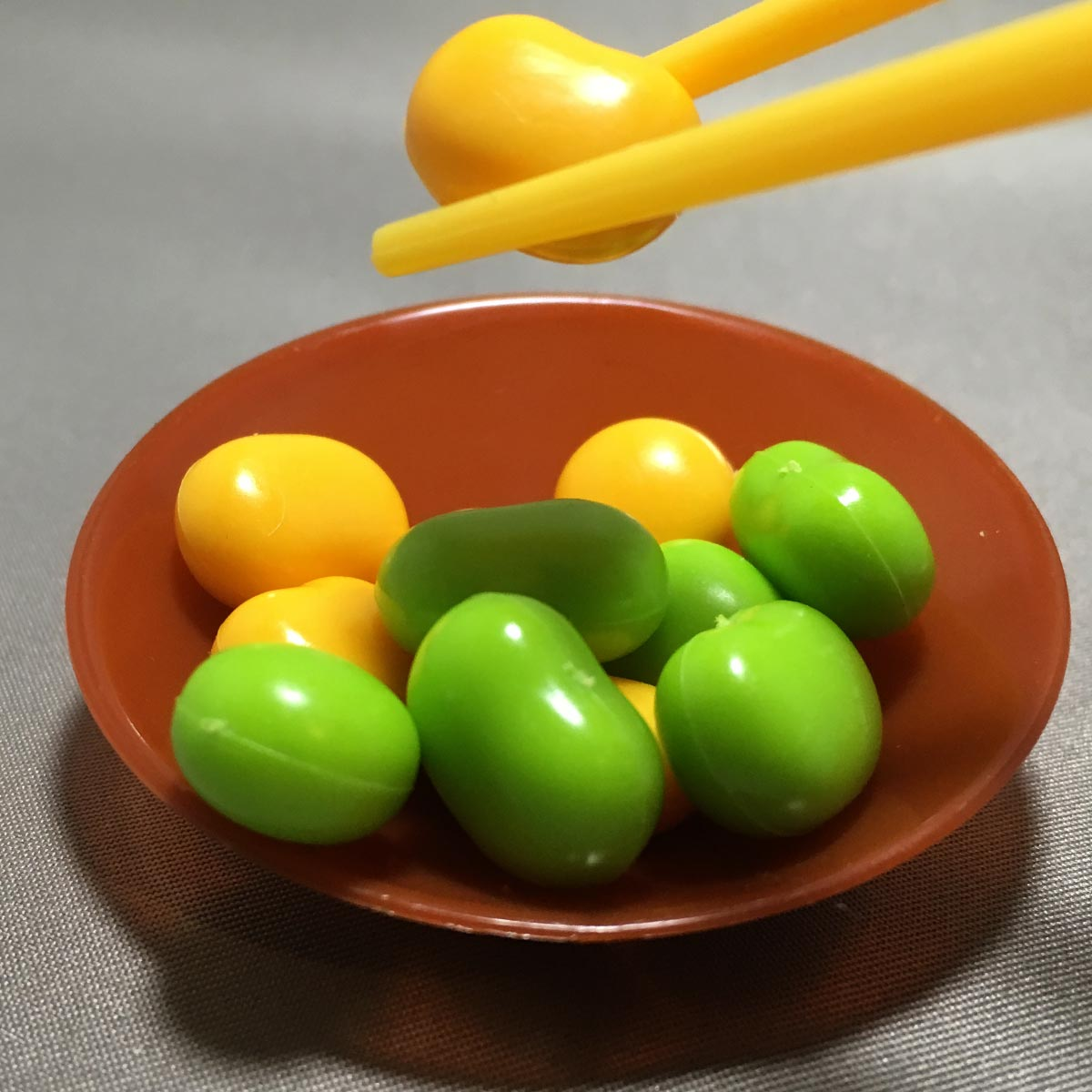 Chopstick Bean Grabbing Game - Beans Chopsticks