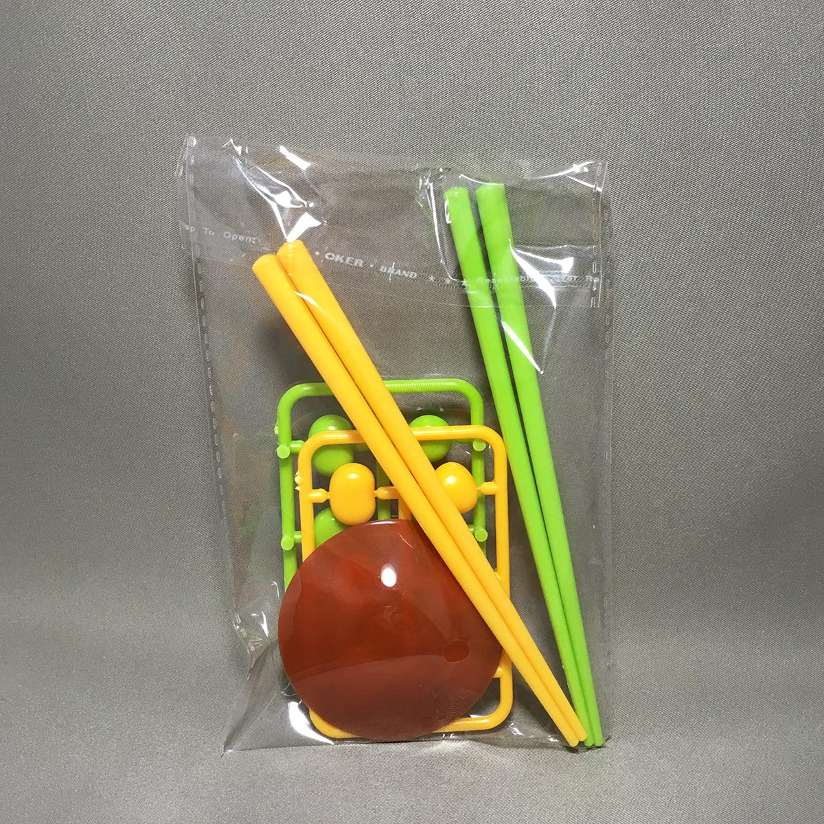 Chopstick Bean Grabbing Game - Inner Packaging