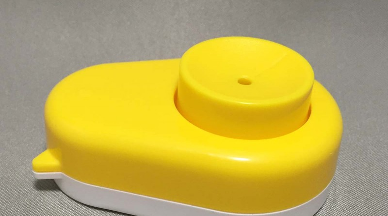 Egg Hole Puncher - Side View