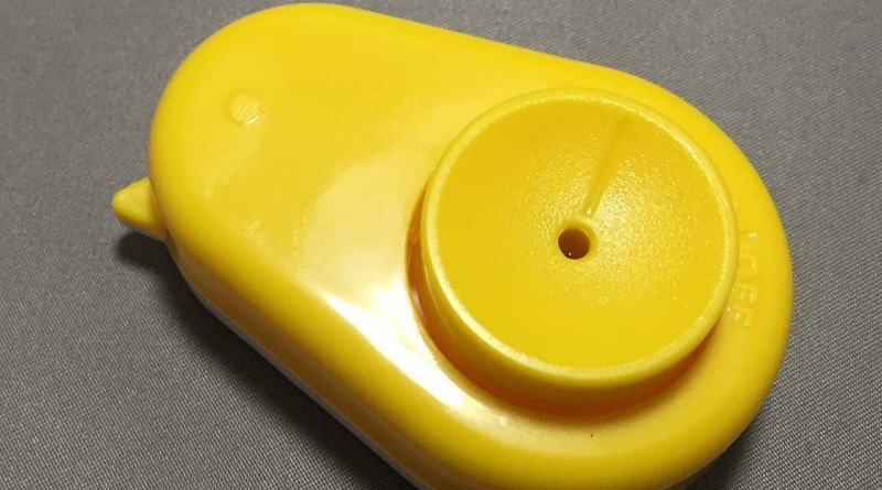 Egg Hole Puncher - Top View