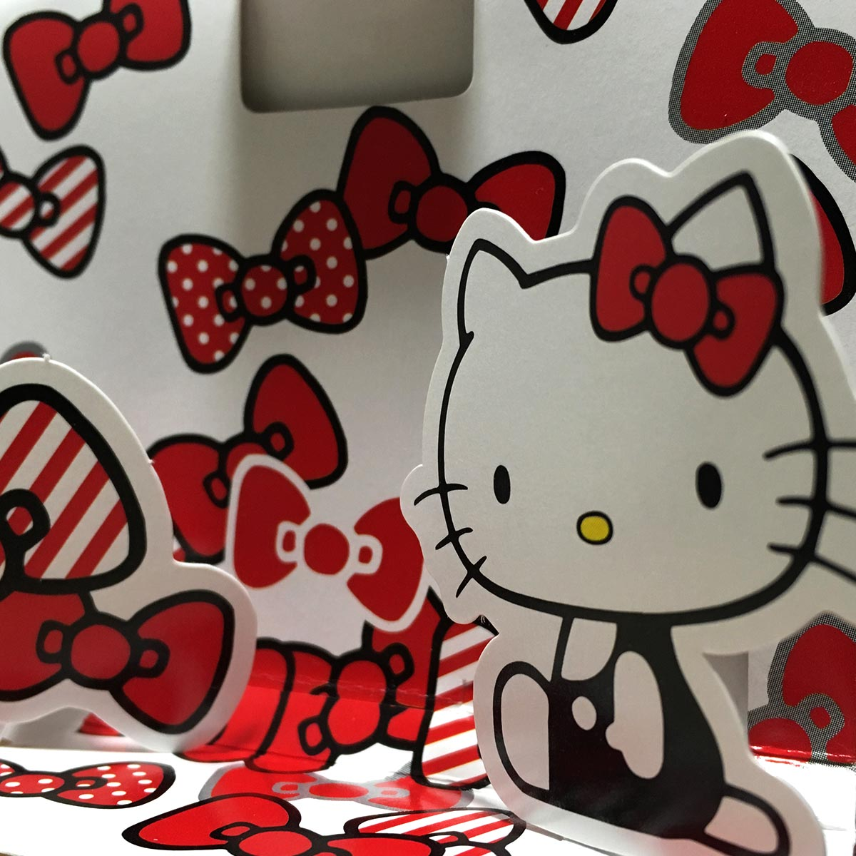 Hello Kitty Oil Blotting Paper - Hello Kitty and Ribbons