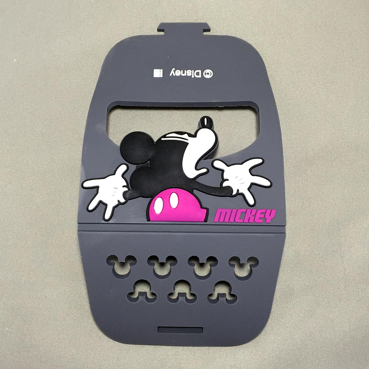 Mickey Mobile Rubber Stand - stand opened up