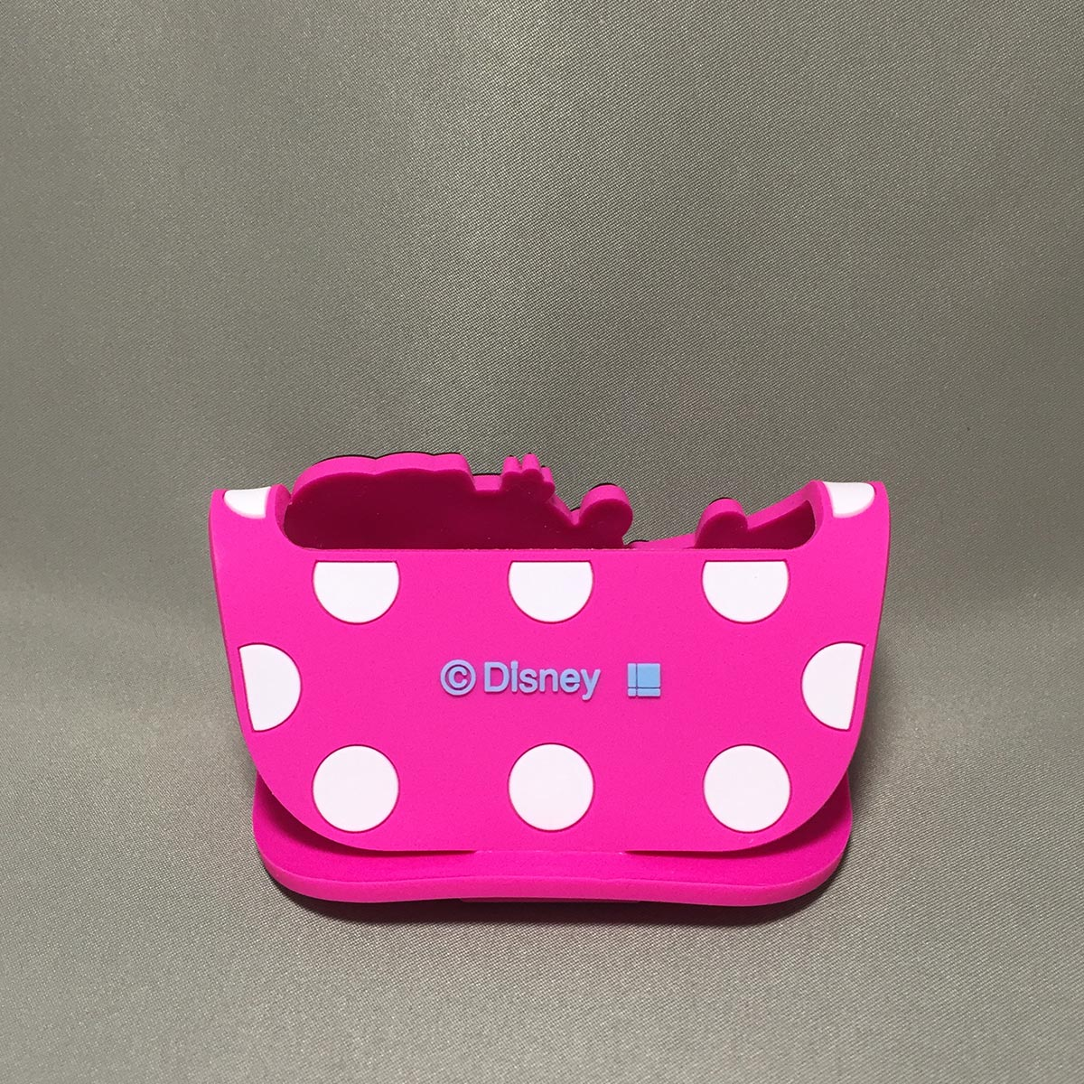 Minnie Mobile Rubber Stand - Back view