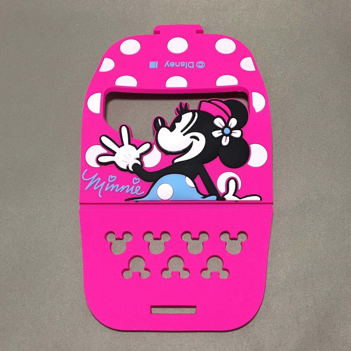 Minnie Mobile Rubber Stand - Opened