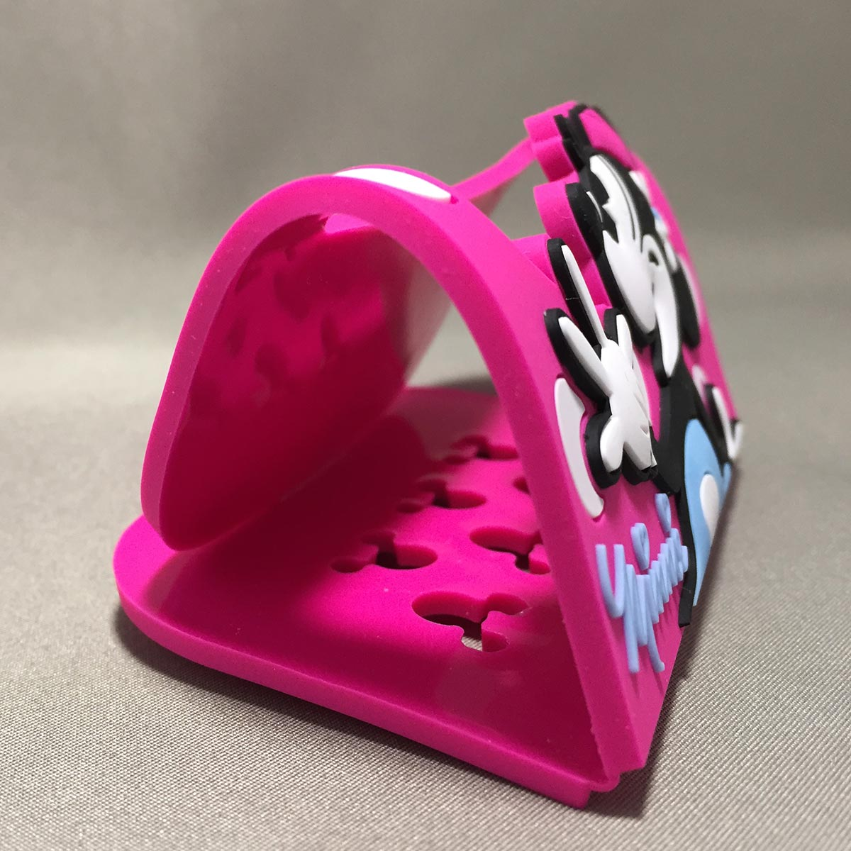 Minnie Mobile Rubber Stand - Side view