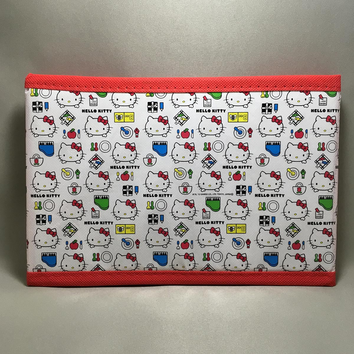 Hello Kitty Foldable Box - side view