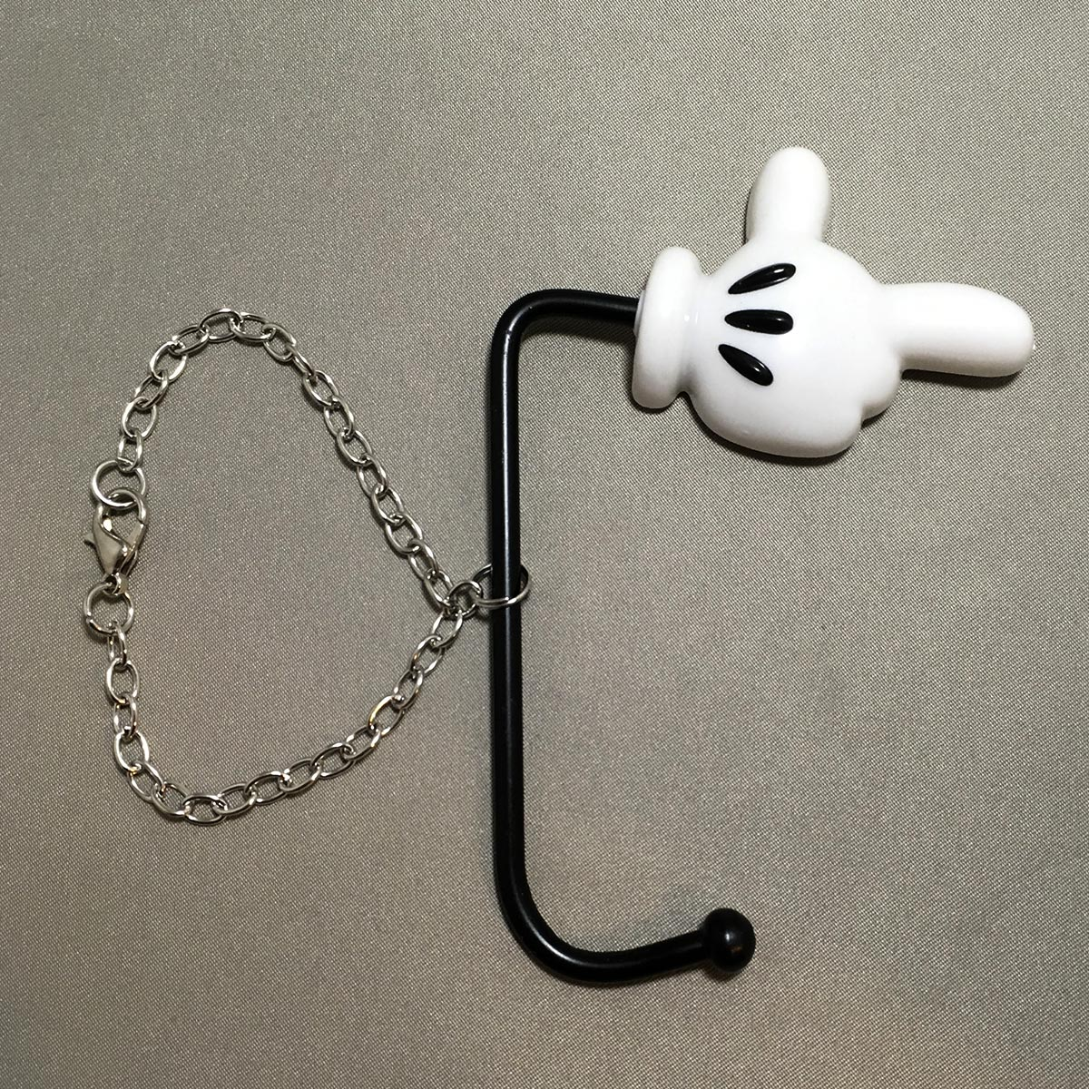 Mickey Bag Hanger - Front hand view