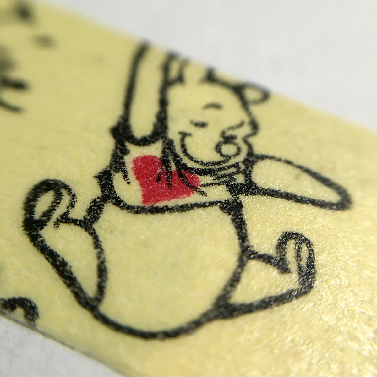 Winnie The Pooh Masking Tape - close up 1
