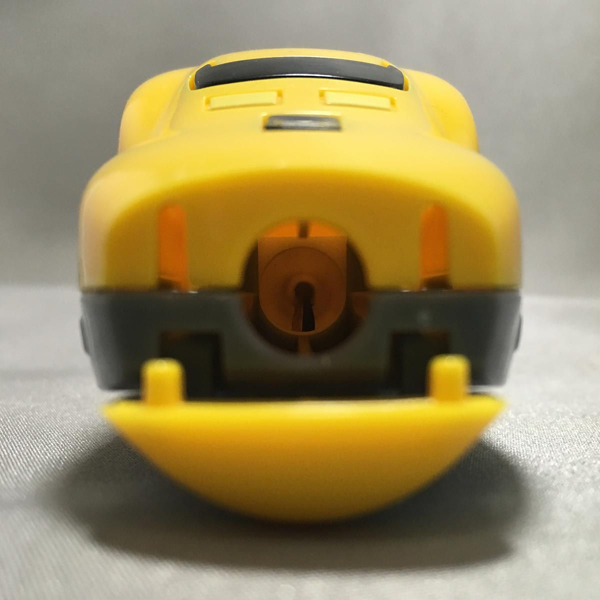 Doctor Yellow Pencil Sharpener - front close up view