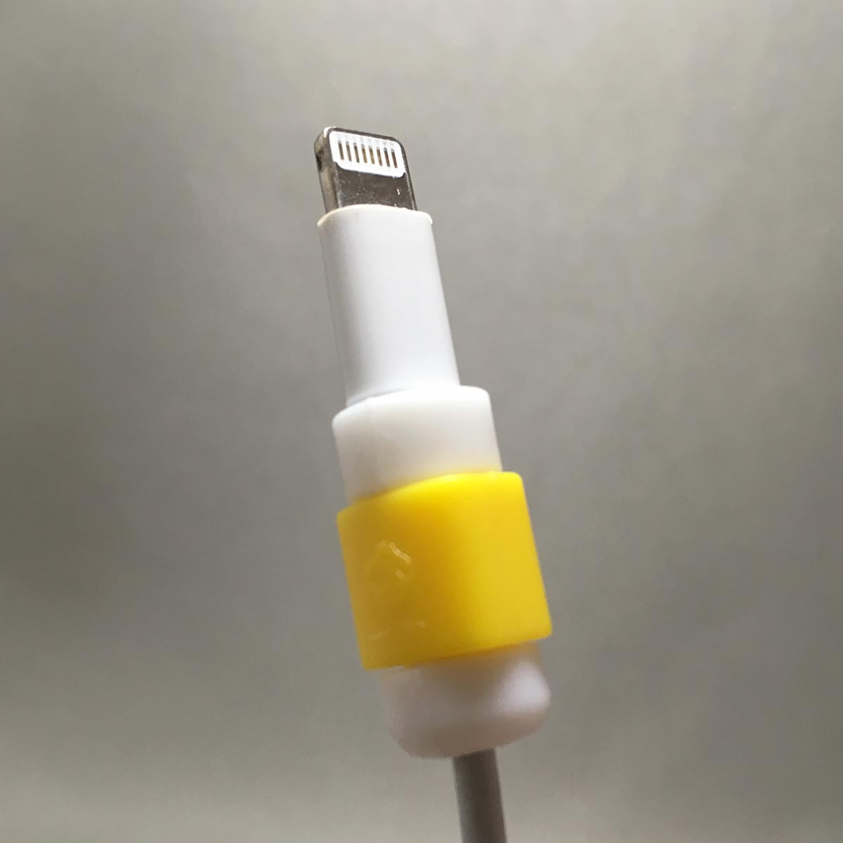 Lightning Cable Protector - Attached to cable step 3